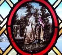232-antique-stained-glass-door