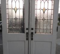235-sold-antique-leaded-glass-doors