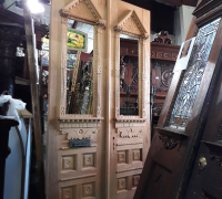 25A..GREAT CARVED ANTIQUE DOORS 48