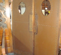 30-sold -antique-leather-and-brass-studded-doors