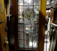 35 -  sold -antique-stained-glass-doors