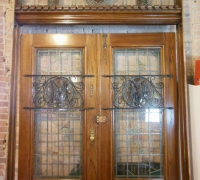 36-  sold -antique-stained-glass-doors