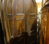 42- sold - antique-gothic-wood-doors-2-pairs-48-w-x-90-h