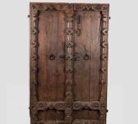 888-ANTIQUE PRS. OF CASTLE DOORS - ABOUT 300 YEARS OLD!!