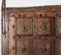 893-ANTIQUE PRS. OF CASTLE DOORS - ABOUT 300 YEARS OLD!
