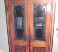 895- GREAT DOORS -  90''H X 51''W X 2 3/4'' THICK