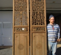 839- 200 YEAR OLD CARVED CHINESE DOORS