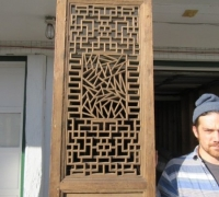 843- 200 YEAR OLD CARVED CHINESE DOORS
