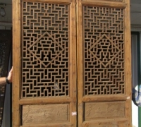 845- 200 YEAR OLD CARVED CHINESE DOORS