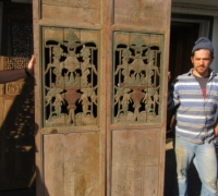 848- 200 YEAR OLD CARVED CHINESE DOORS
