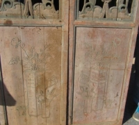 849- 200 YEAR OLD CARVED CHINESE DOORS