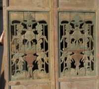 850- 200 YEAR OLD CARVED CHINESE DOORS