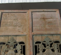 851- 200 YEAR OLD CARVED CHINESE DOORS
