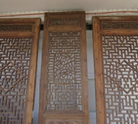 854- 200 YEAR OLD CARVED CHINESE DOORS