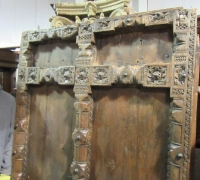 915-ANTIQUE PRS. OF CASTLE DOORS - ABOUT 300 YEARS OLD!- 76'' h x 47'' w
