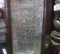 01...FINEST ANTIQUE DOOR WITH 127 JEWELS....SEE 1011 TO 1015