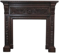 1429 CARVED MANTLE...76 H X 83 W