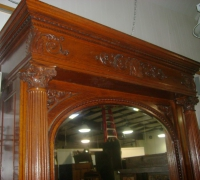 254-antique-carved-tall-fireplace-mantle