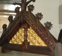 258-sold-antique-carved-gothic-fireplace-mantle