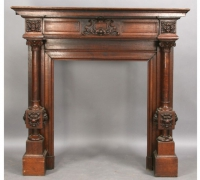 50-sold-antique-carved-mantle-BEFORE-picture-original-size-60-wide
