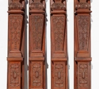 07nh.....4 PILASTERS...97 H X 12 W X 7 1/2 D