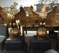 15*-set-of-2-wanamakers-plaster-eagles-circa-1920
