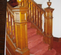 70-antique-oak-railing-newel-posts
