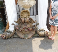 176 - Doorway Crown - 71'' w x 42'' h x 10'' h - From Mae Rex Mansion