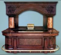 709-antique-carved-front-bar-and-back-bar