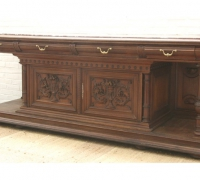 104- sold - antique-carved-front-bar-short-sideboards