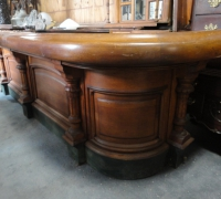 108- sold -antique-carved-front-bar