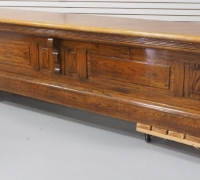 26A....ANTIQUE 12 FT LONG FRONT BAR....SEE 860 TO 863