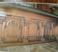 708- sold - antique-carved-front-bar-carved-altar