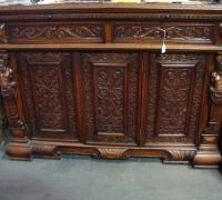 38-sold -antique-carved-figural-front-bar-short-sideboards