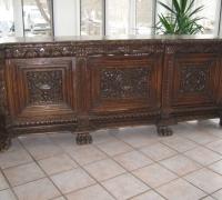 51- sold -  antique-carved-front-bar-short-sideboards