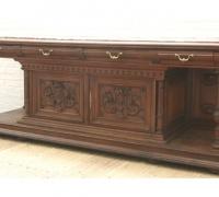 53- sold - antique-carved-front-bar-short-sideboards