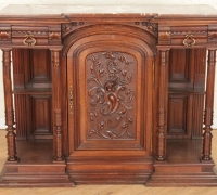 788.....39 INCHES H X 51 INCHES W X 17.5 D MAHOGANY SERVER