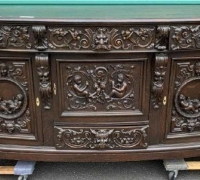23...GOTHIC STYLE SIDEBOARD 40 X 84 X 27 D SEE 854 TO 857