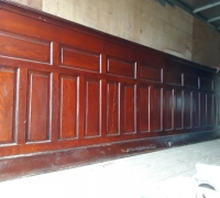 02....16 FT TO 26 FT LONG ANTIQUE FRONT BAR