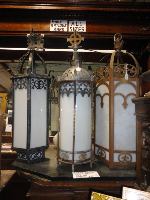 Antique Gothic Style Furniture For Sale Including Castle