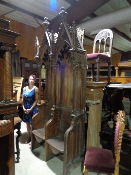 Antique Gothic Style Furniture Castle Amp Church Antiques For Sale In Pa Oley Valley