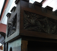 105-antique-carved-gothic-sideboard