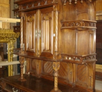 106-antique-carved-gothic-sideboard