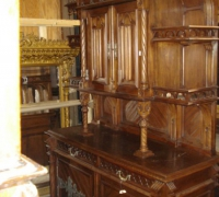 107-antique-carved-gothic-sideboard