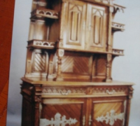 108-antique-carved-gothic-sideboard