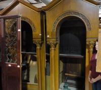 06*-Gothic Cabinets- 9' X 4' W Each