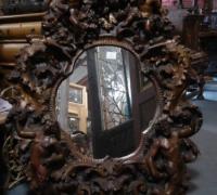 1243-antique-carved-cherub-mirror