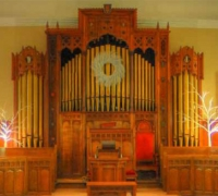 19*-Great Extra Large Antique Gothic Organ Frame - 14 to 20 ft wide X 8 ft to 15 ft long  - see #815 to #824