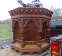 15* - Carved Pulpit - 1 of 5 more - All Different