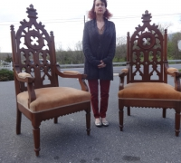 40A - Gothic Chairs - 2 of 30 more